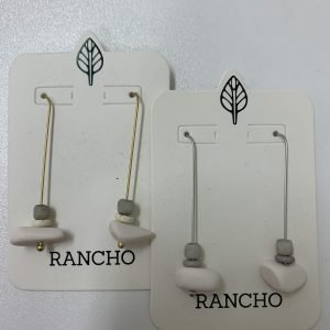 Product Image of White Resin Earring