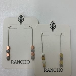 Product image of Square Oval Earring