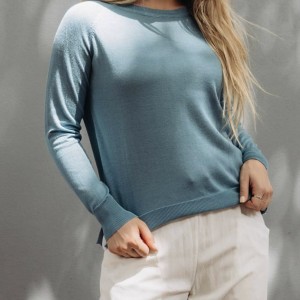Label Of Love Knit - Blue