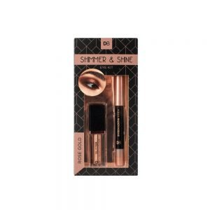 Product display of Shimmer and Shine Eye Kit - Rose Gold