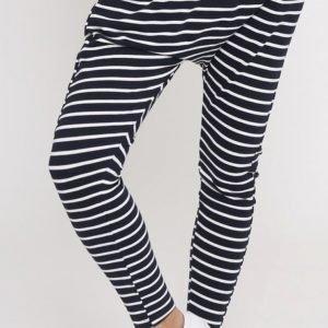 Product image of Leoni Jordan Joggers - White Navy Stripe